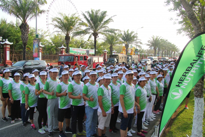 Ngày chạy Olympic vì sức khỏe toàn dân thành phố Đà Nẵng: