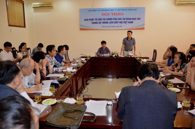 Hội thảo về tự chủ tài chính trong các cơ quan báo chí trong bối cảnh hiện nay