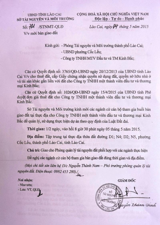 Chính quyền và Tòa án nhân dân tỉnh Lào Cai có vi phạm pháp luật?