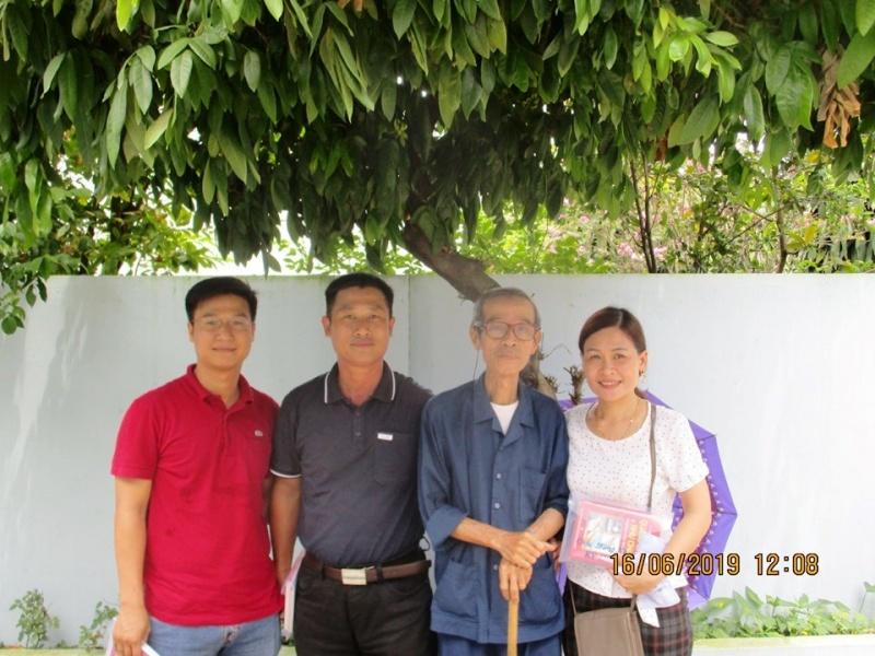 Thăm cụ Lê Hưng (con trai cả cụ Thiên Lương - 'Trùm' Tử Vi Sài Gòn trước 75)