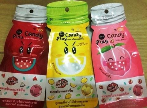voi san pham play candy can mot loi xin loi