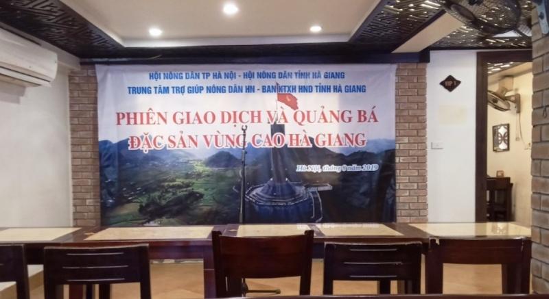 Nông sản vùng cao Hà Giang tại Hà Nội