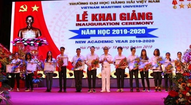 Hải Phòng: Đại học Hàng hải Việt Nam khai giảng năm học 2019-2020