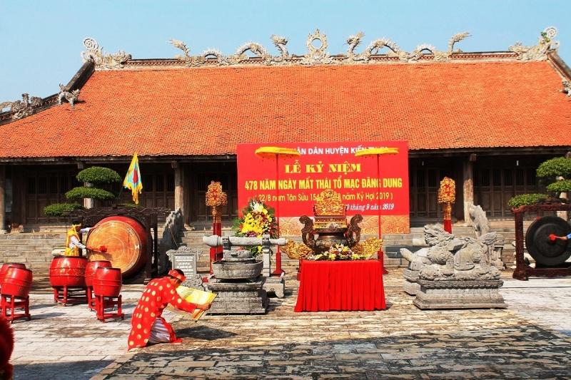 Hải Phòng: Kỷ niệm 478 năm Ngày mất Thái tổ Mạc Đăng Dung