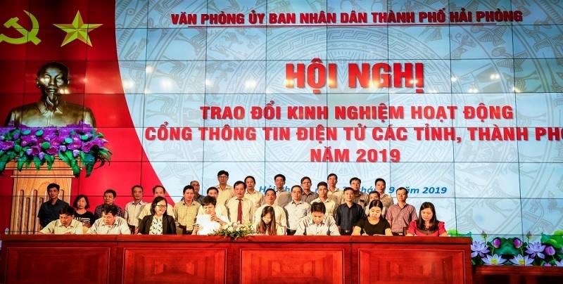 Hải Phòng: Hội nghị trao đổi kinh nghiệm hoạt động Cổng TTĐT các tỉnh, thành phố