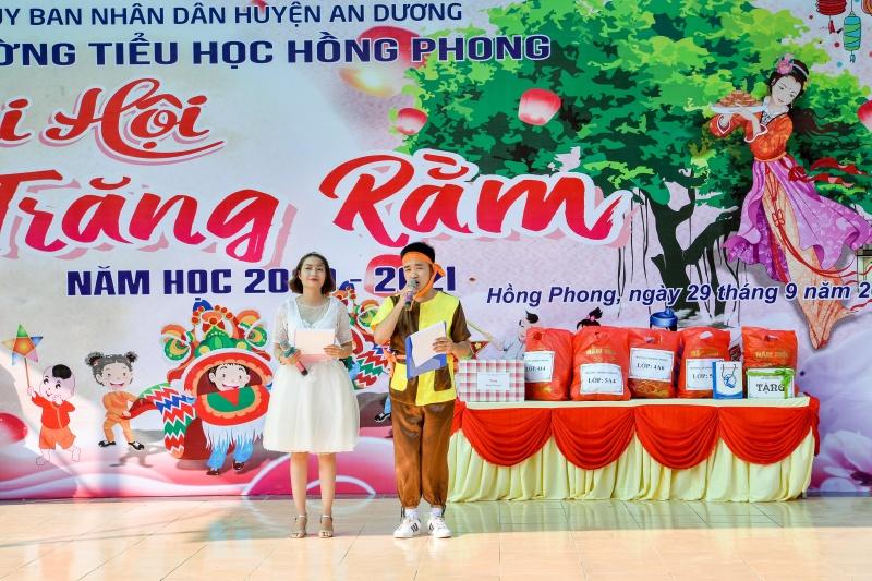 """Hải Phòng: Trường Tiểu học Hồng Phong rộn ràng tổ chức """"Buổi vui hội trăng rằm 2020"""""""