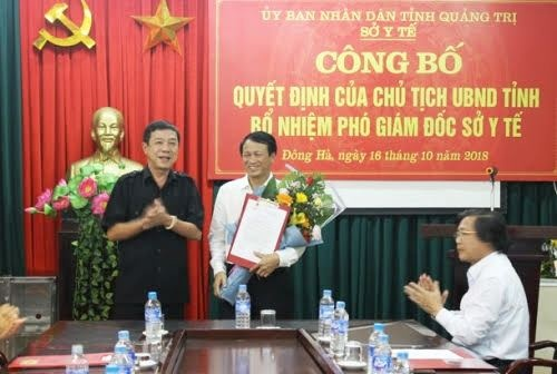 Quảng Trị có tân Giám đốc Sở Y Tế