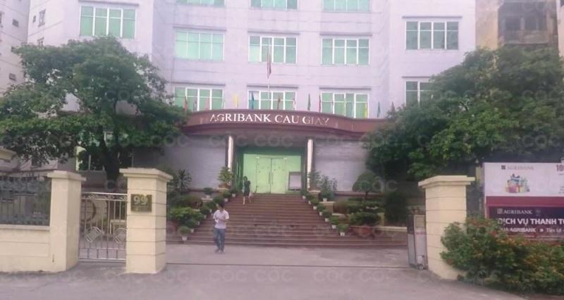 Bộ phận chăm sóc khách hàng Agribank Cầu Giấy nhiệt tình, có trách nhiệm