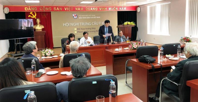 Bảo tàng báo chí Việt Nam phấn đấu 20/4/2020 mở cửa đón khách tham quan