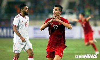 danh bai uae tuyen viet nam vuon len nhat bang g vong loai world cup 2022