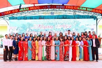 Trường Tiểu học Hồng Phong - ngày hội tri ân các thầy cô giáo nhân ngày Nhà giáo Việt nam