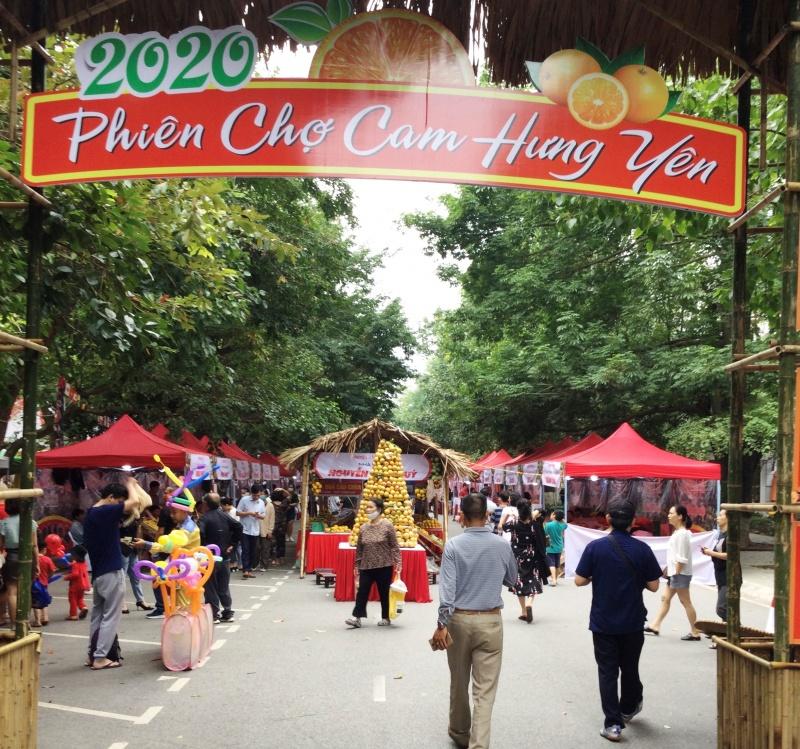 Hội chợ cam Hưng Yên năm 2020