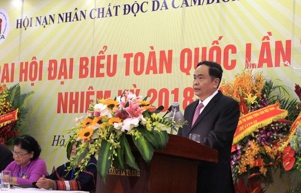 khai mac dai hoi dai bieu toan quoc hoi nan nhan chat doc da camdioxin viet nam lan iv