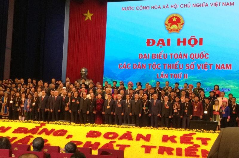 1.592 đại biểu chính thức dự Đại hội toàn quốc các dân tộc thiểu số lần thứ II