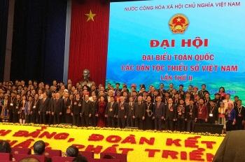 1592 dai bieu chinh thuc du dai hoi toan quoc cac dan toc thieu so lan thu ii