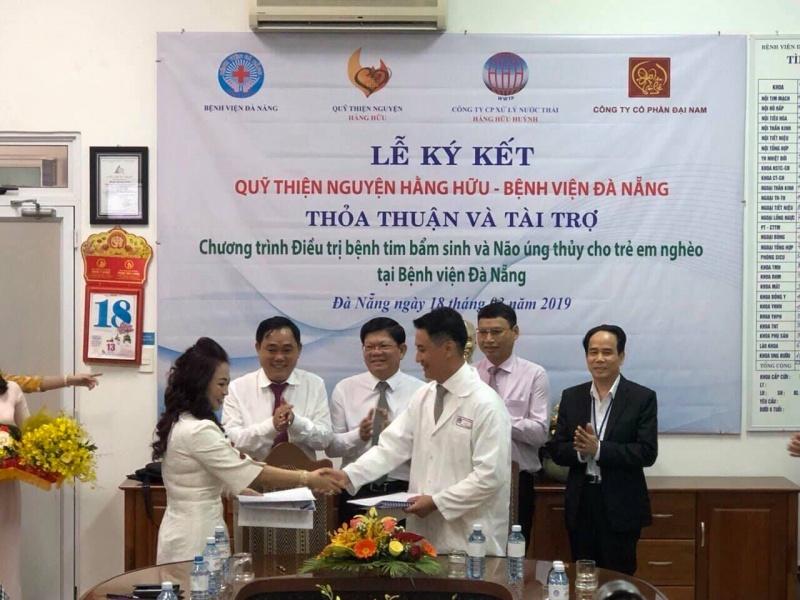 Đà Nẵng tiếp nhận quỹ điều trị tim bẩm sinh cho trẻ em nghèo