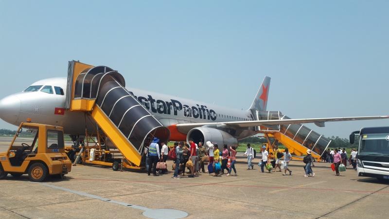 Kết nối Đà Nẵng - Vinh bằng máy bay phản lực tầm trung