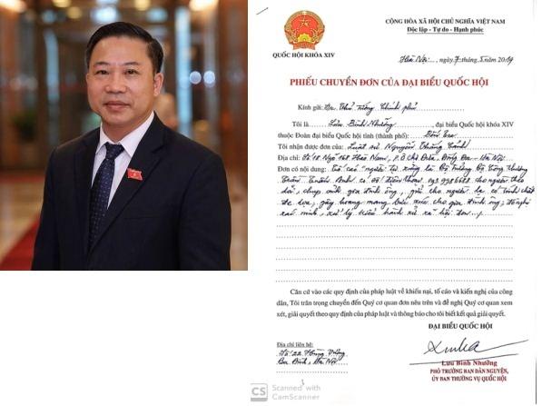 """Vụ """"người tự xưng Bộ Trưởng Trần Tuấn Anh…"""": Đại biểu Quốc hội chuyển đơn tố cáo đến các cấp có Thẩm quyền"""