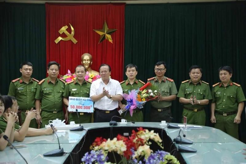 Phát hiện nhiều trường hợp dương tính ma túy, công an quận Hải Châu được thưởng nóng