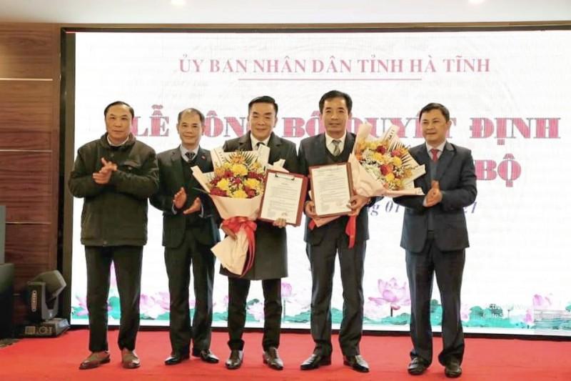 Ông Nguyễn Lương Tâm được bổ nhiệm làm Phó Giám đốc Sở Y tế Hà Tĩnh