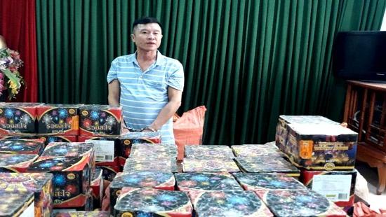 bat giu doi tuong van chuyen hon 600 kg phao no