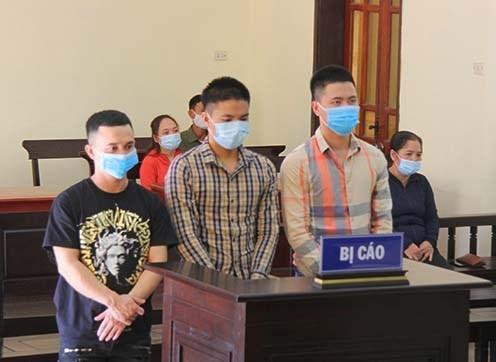 Hà Tĩnh: Hơn 11 năm tù cho 3 kẻ buôn bán