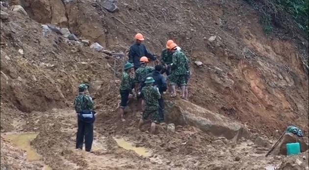 Thêm một thi thể công nhân thủy điện Rào Trăng 3 được tìm thấy