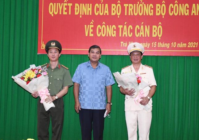 Đại tá Trần Xuân Ánh - Phó Cục trưởng Tổ chức cán bộ được bổ nhiệm Giám đốc Công an tỉnh Trà Vinh