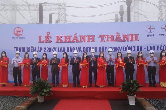 Quảng Trị: Khánh thành dự án đường dây 220kV Đông Hà - Lao Bảo