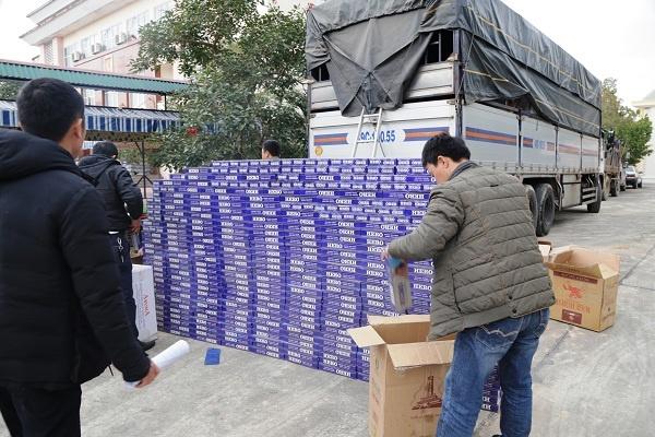 Bắt lượng lớn thuốc lá lậu mang nhãn hiệu HERO