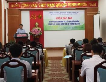 quang ninh tap huan ky nang marketing tieu thu san pham nong san