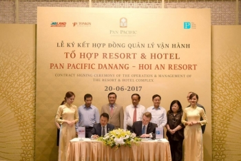 le ky ket hop dong quan ly va van hanh to hop resort hotel pacific danang hoi an resort