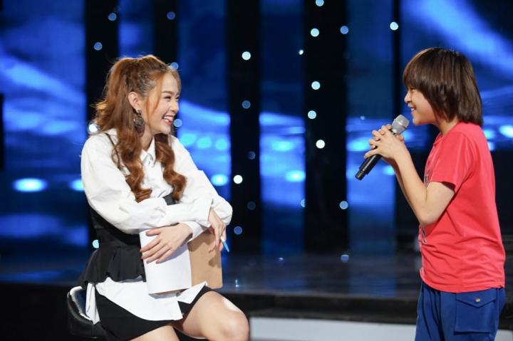 ca si minh hang bi thi sinh vietnam idol kids hop hon