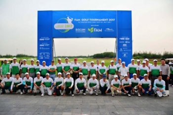 fam golf tournament 2017 chinh thuc khai mac tai san flc samson golf links
