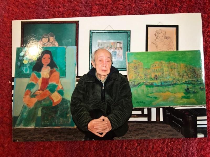 Họa sĩ Linh Chi- những bức tranh ra mắt công chúng nhân kỷ niệm 100 năm ngày sinh