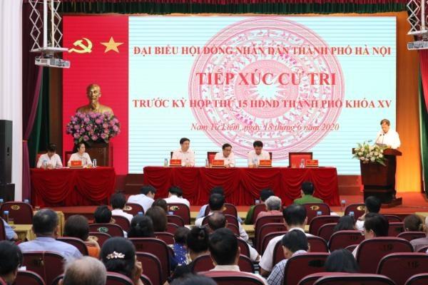 Hà Nội giải quyết các kiến nghị của cử tri