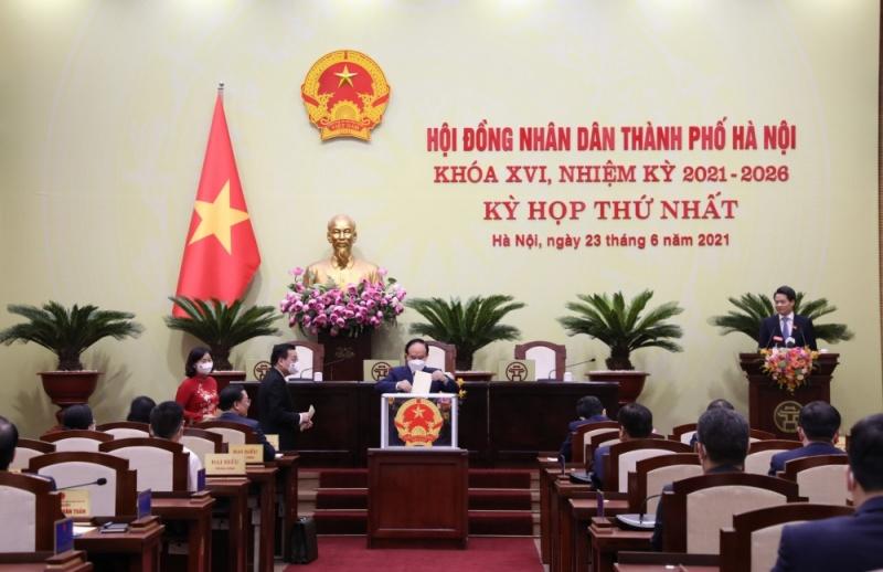 Khai mạc kỳ họp thứ nhất HĐND TP. Hà Nội khóa XVI