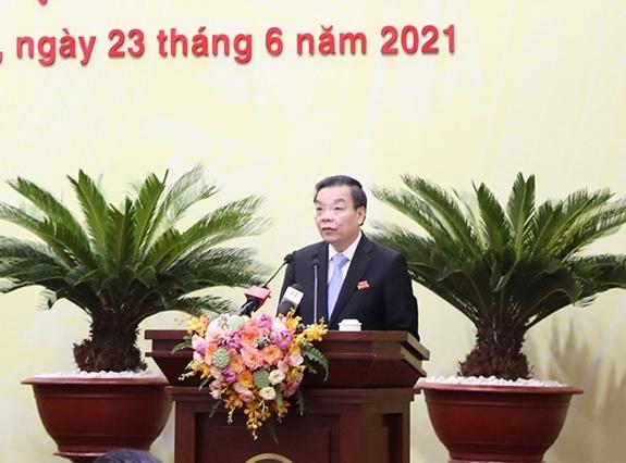 Đồng chí Chu Ngọc Anh tái đắc cử chức Chủ tịch Ủy ban nhân dân thành phố Hà Nội