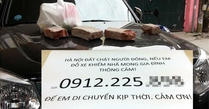 Buồn về văn hóa đỗ xe của người Việt
