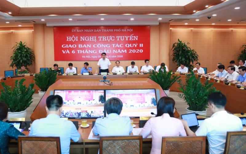Hà Nội- một số kết quả chỉ đạo, điều hành nổi bật của UBND Thành phố tuần đầu tháng 7