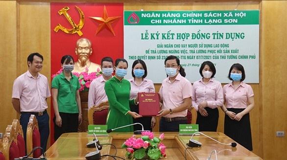 Chính sách xã hội Việt Nam trả lương 12.000 người lao động từ gói vay ưu đãi