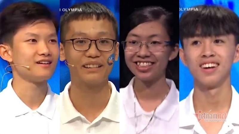 4 thí sinh thi chung kết Đường lên đỉnh Olympia 2020- điều gì đặc biệt?