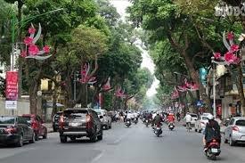 Trang trí hoa, cây cảnh, tuyên truyền cổ động chào mừng kỷ niệm 1010 năm Thăng Long - Hà Nội, ngày Giải phóng Thủ đô 10/10, Đại hội Đảng lần thứ XVII