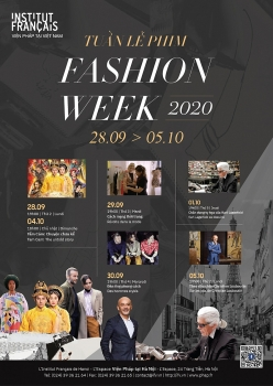 tuan le phim fashion week 2020