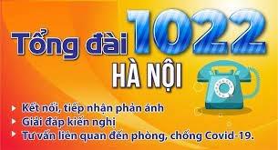 tong dai 1022 ha noi mo them kenh ho tro nguoi dan bi anh huong boi dai dich covid 19