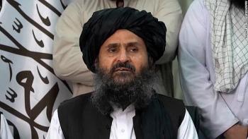 taliban pho thu tuong afghanistan mullah abdul baradar len tieng ruoc tin don mau thuan noi bo