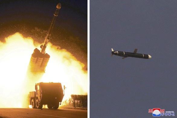 Các tên lửa mới thử của Triều Tiên được cho là