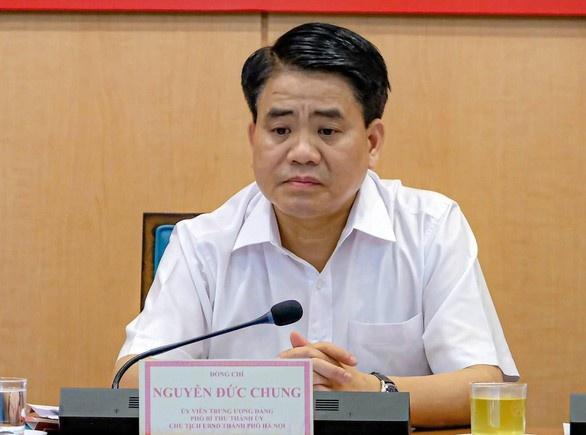 2 bức 'tín thư ngầm' gửi riêng khi ông Nguyễn Đức Chung là Chủ tịch Hà Nội, Bùi Quang Huy hưởng lợi 19 tỉ đồng