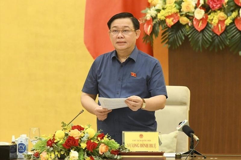 Chủ tịch Quốc hội chủ trì làm việc về chính sách tài khoá, tiền tệ