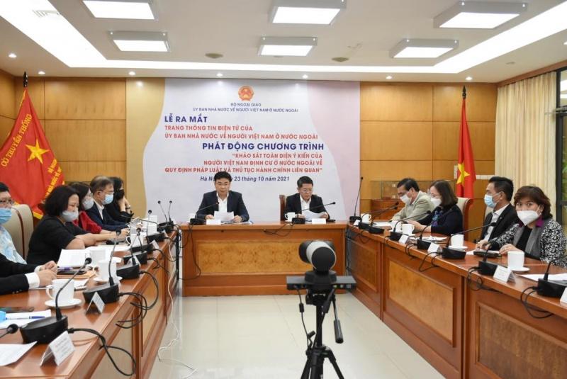 Khảo sát toàn diện ý kiến của người Việt Nam định cư ở nước ngoài